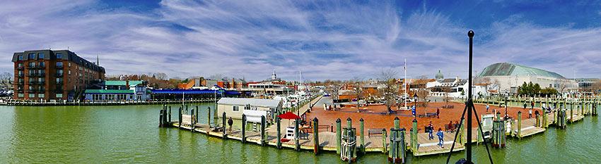 Annapolis by Chesapeake Bay