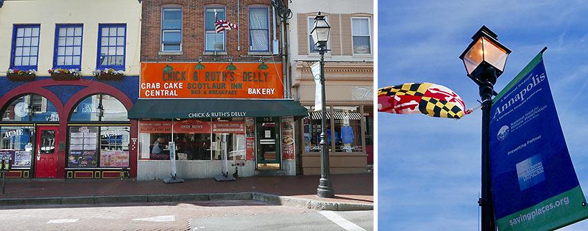shops along Main St., Annapolis