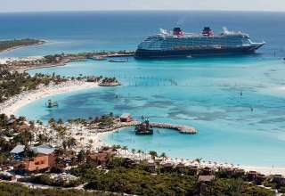Disney's private island Castaway Cay