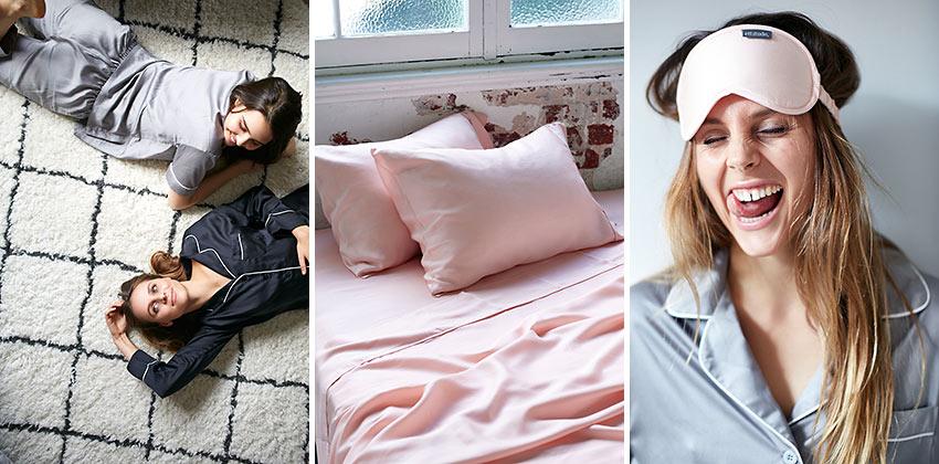 Ettitude ultra soft sleepwear, sheets and eye-masks