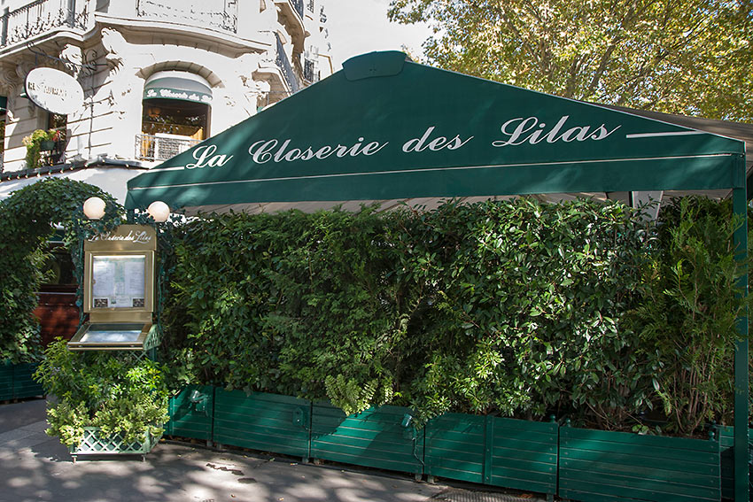 Hemingway's favorite restaurant in Paris