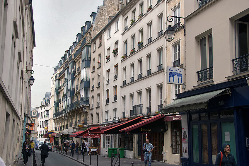 a street on the Left Bank, Paris