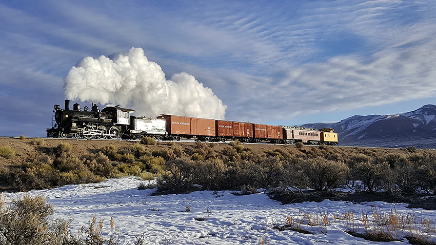 Nevada Northern Railway train
