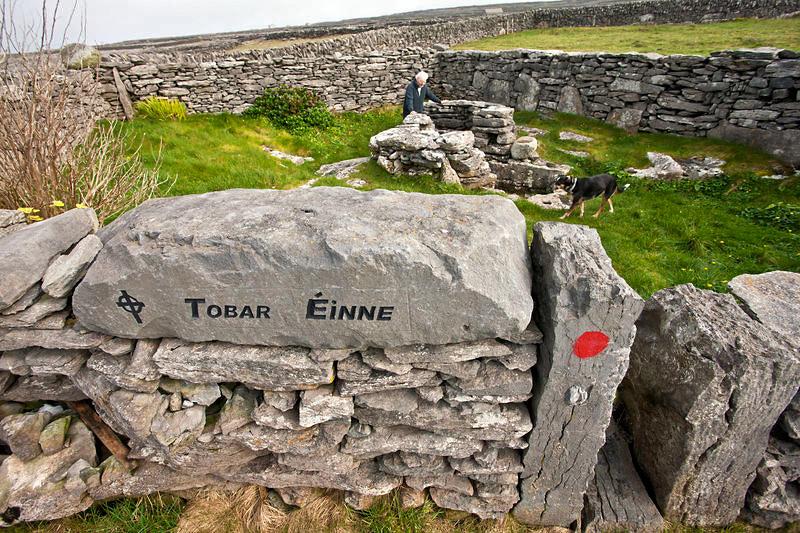 possible grave site, Aran Islands