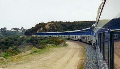 Amtrak Surfliner train