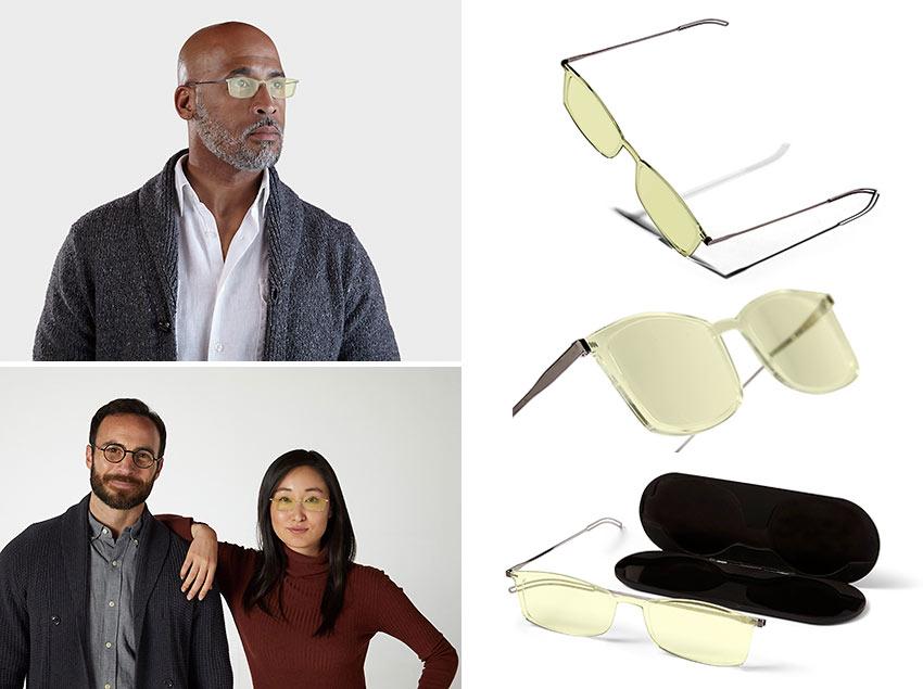 ThinOptics' reading glasses