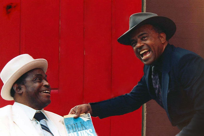 Willie Dixon and Roy Gaines