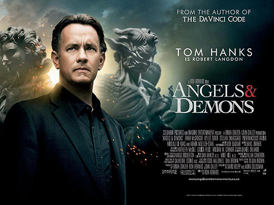 'Angels and Demons' movie poster