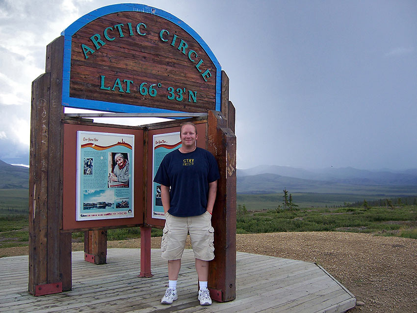 writer at the Arctic Circle