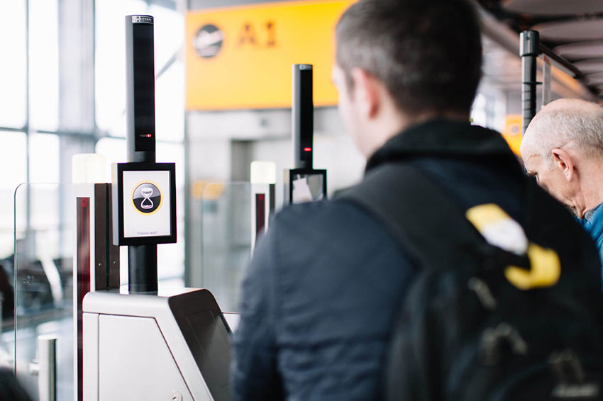 British Airways' biometric self-boarding gates