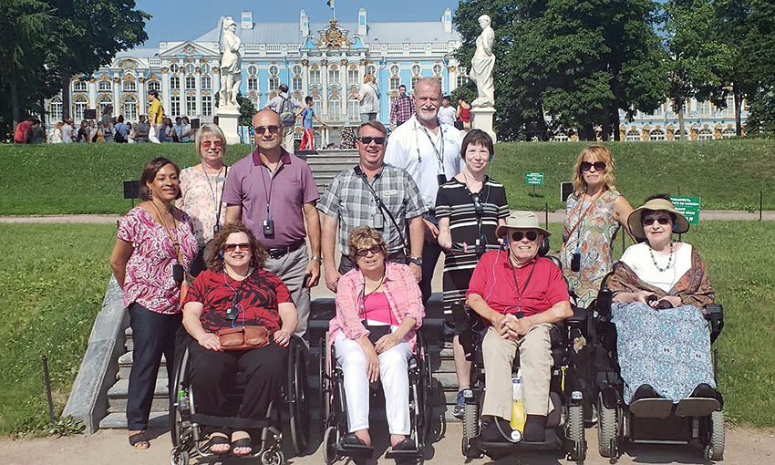 Dignity Travel at the Catherine Palace in St. Petersburg