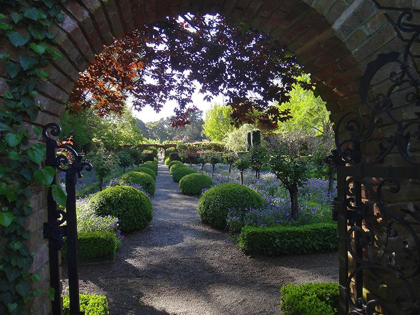 garden at Filoli, Woodside, California