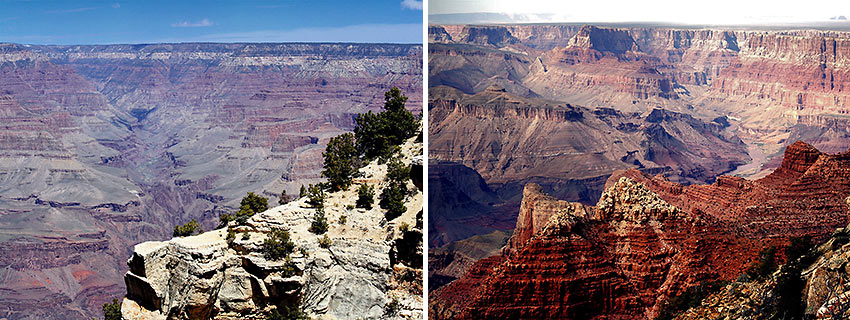 scenes from the Grand Canyon
