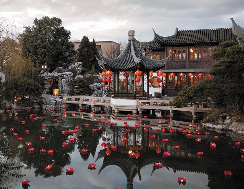 Lan Su Chinese Garden, Portland, OR