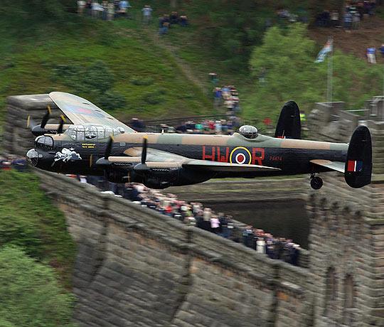 WW2-era Lancaster Bomber