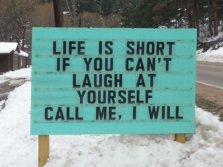 Don's Puns: Laugh at Yourself