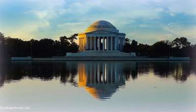 Jefferson Memorial, Washington D.C. at sunset