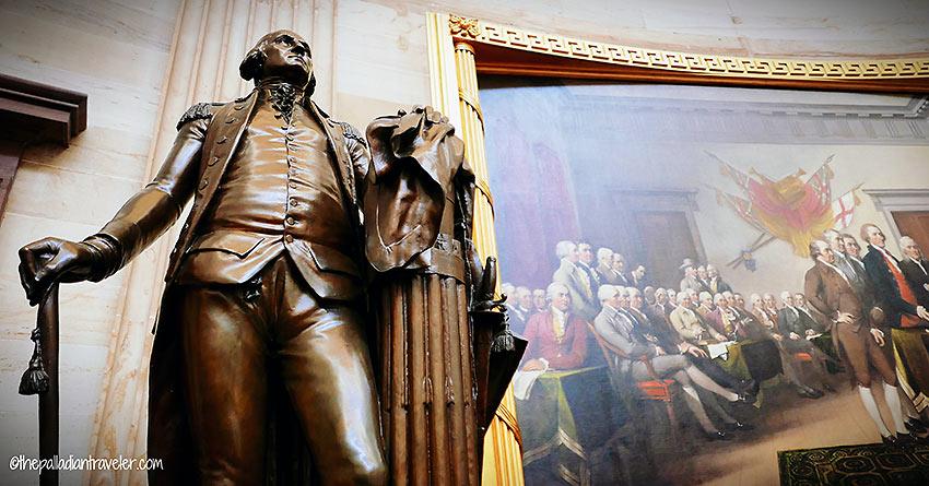 George Washington bronze sculpture