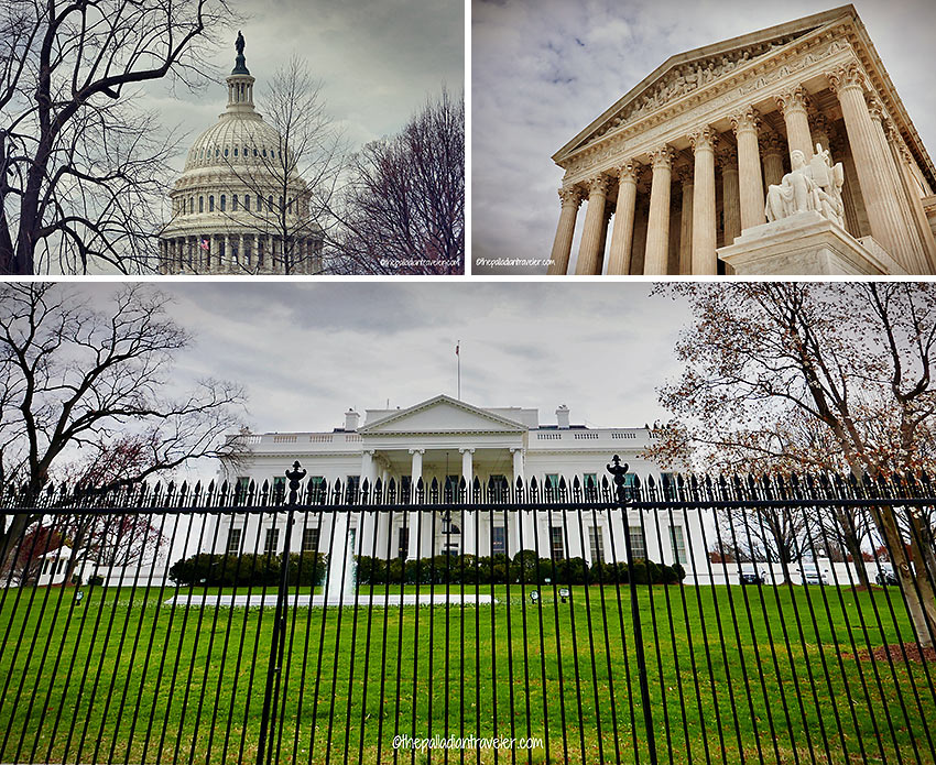 White House, Congress and the Supreme Court
