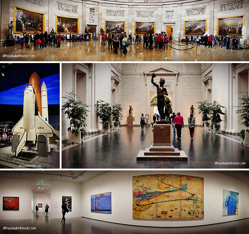 museums and galleries at the Smithsonian Institution