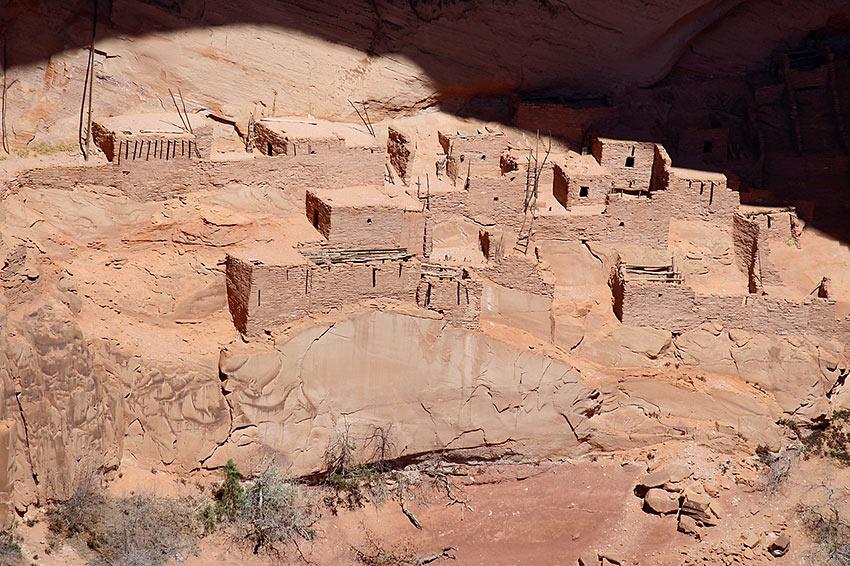 Navajo village