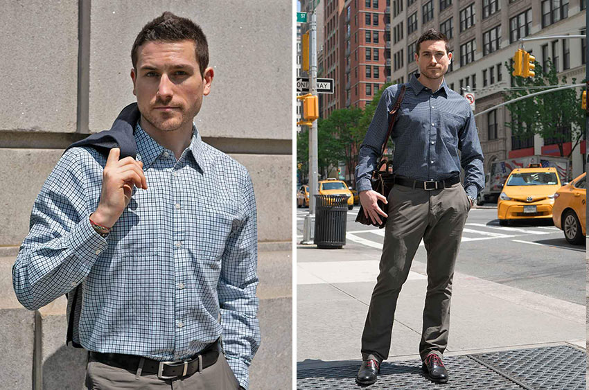 Clothing Arts' Pickpocket-Proof Business Travel Shirt