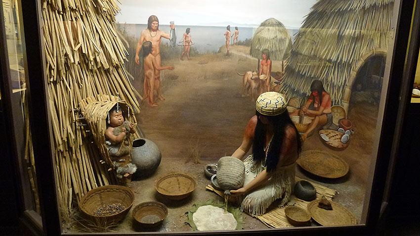 painting of the Santa Ynez Band of Chumash Indians
