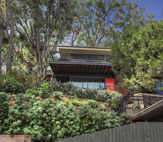 Tim's home in Silver Lake