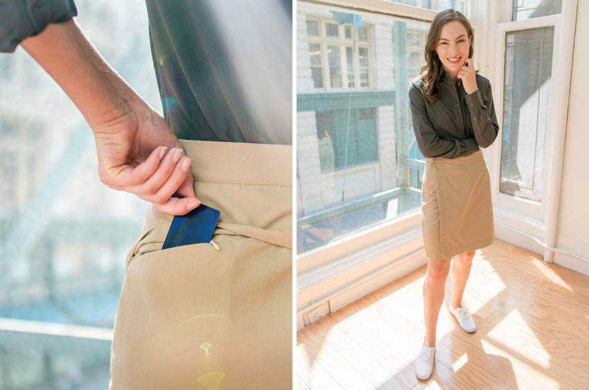 Clothing Arts' Travel Wrap Skirt