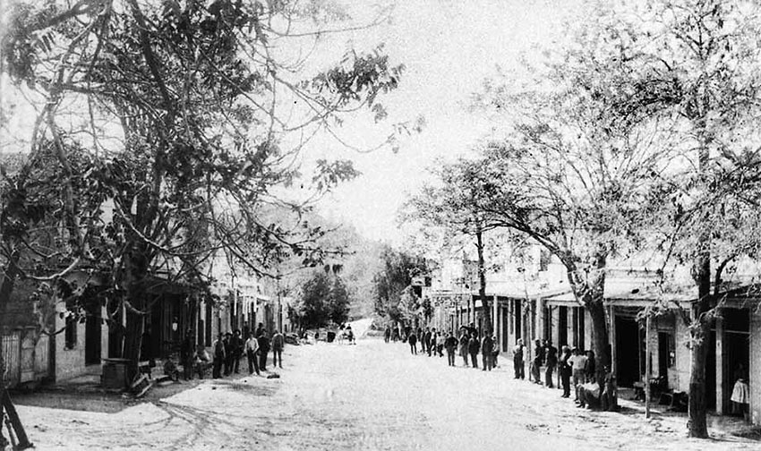 Main Street, Angels Camp, CA 1860's photo