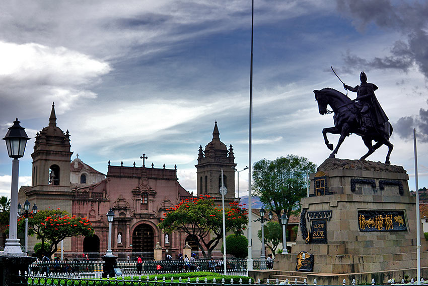 Ayacucho central plaza