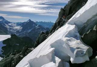 climbing the Bugaboos