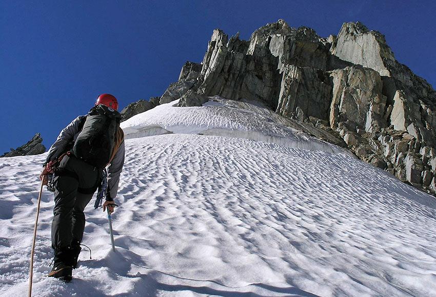 climbing the Bugaboos