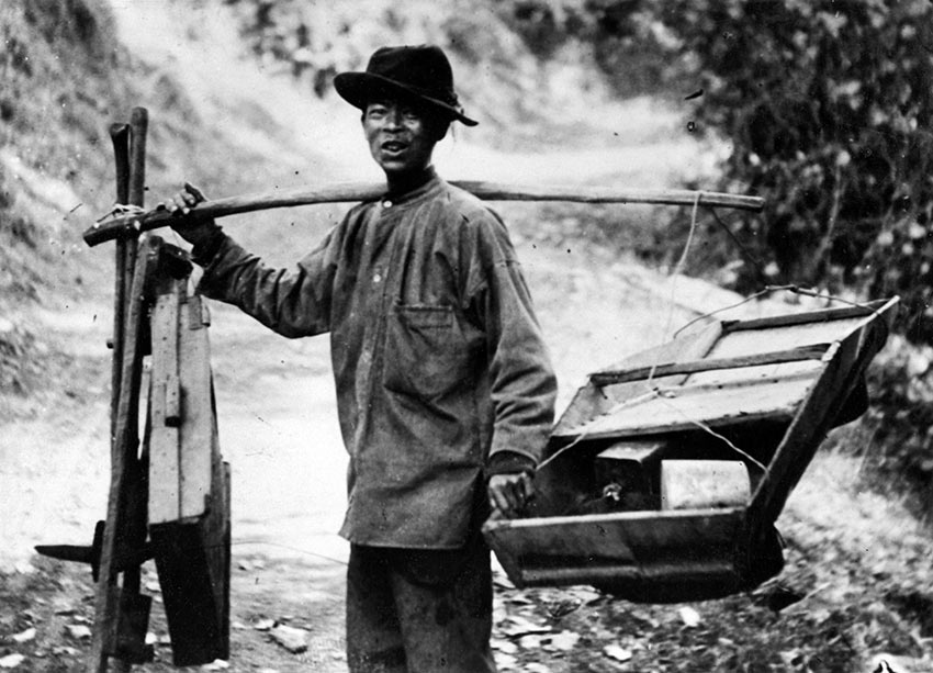 Chinese miner during the California Gold Rush