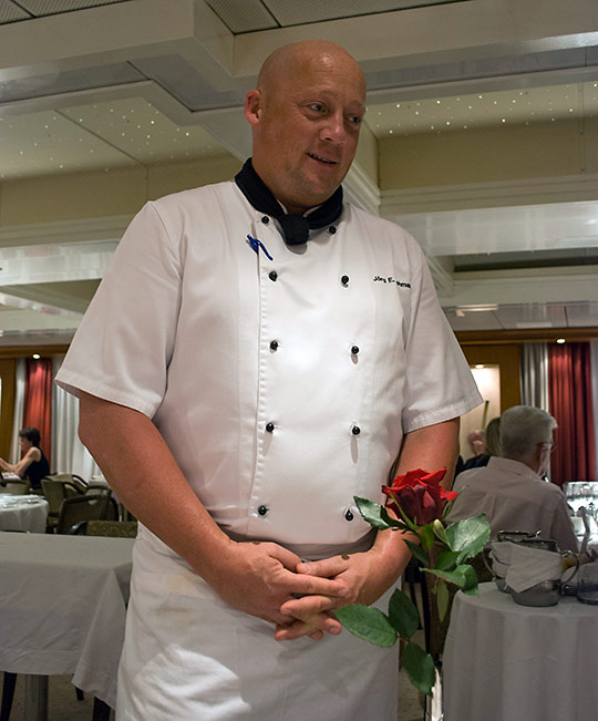 Executive Chef Jorg Lehmann on SeaDream II