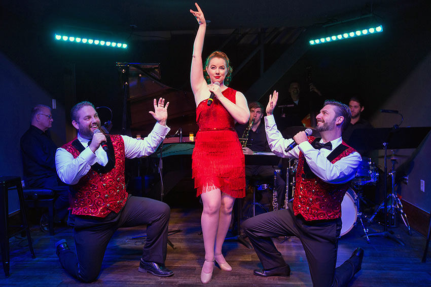 a live show aboard the American Duchess