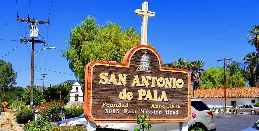 San Antonio de Pala Asistencia, also known as Pala Mission