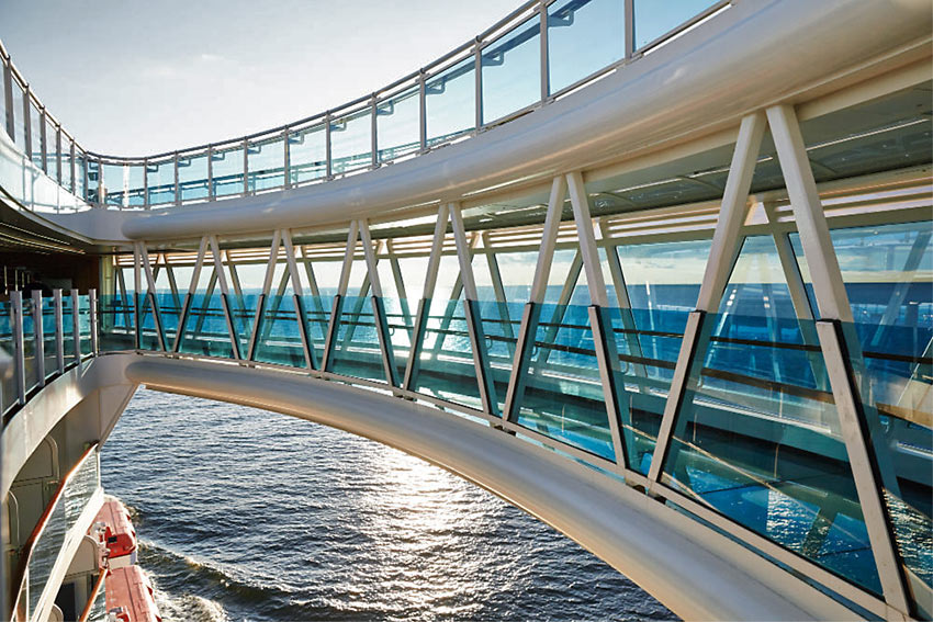 The SEAWALK on the Royal Princess