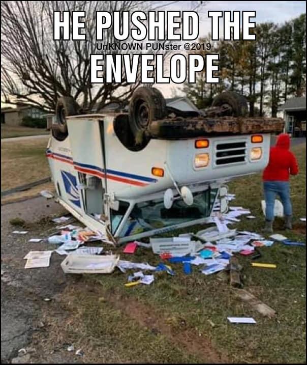 Don's Puns: Push the Envelope 2
