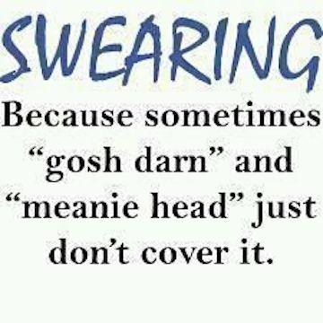 Parting Shot: Swearing