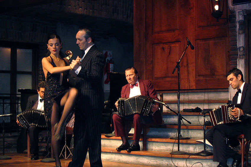 formal tango dinner show, Buenos Aires
