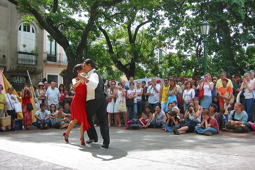street tango at La Boca