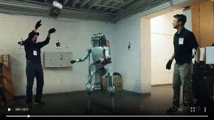 video: It's not nice to tease a robot