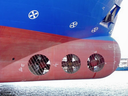 cruise ship bow and stern thrusters