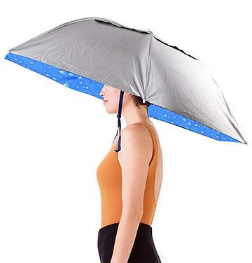 waterproof umbrella hat