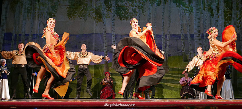 Russian folkloric troupe