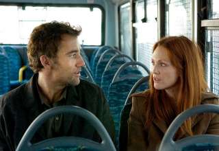 Clive Owen and Julianne Moore in 'Children of Men'