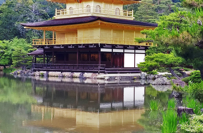 Golden Pavillion in northern Kyoto