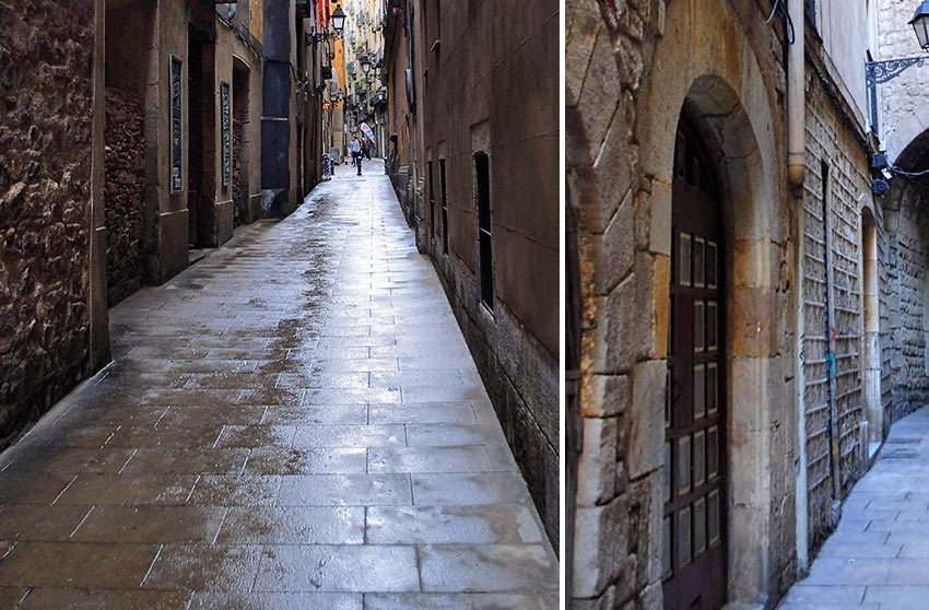Barcelona's historic Gothic Quarter