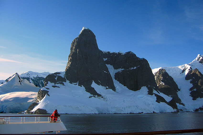 Antarctica landscape on MV Discovery tour